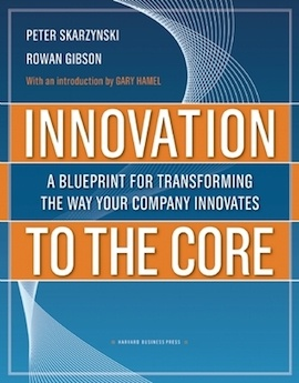 Innovation to the Core- A Blueprint for Transforming the Way Your Company Innovates by Peter Skarzynski