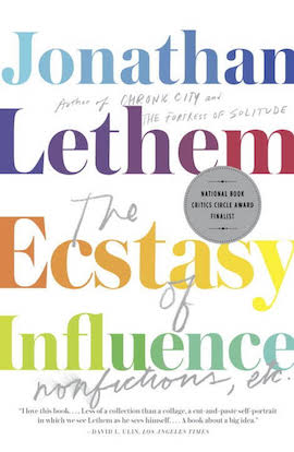 The Ecstasy of Influence- A plagiarism